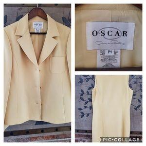 OSCAR DE LA RENTA Woman's Dress & Jacket Size 16